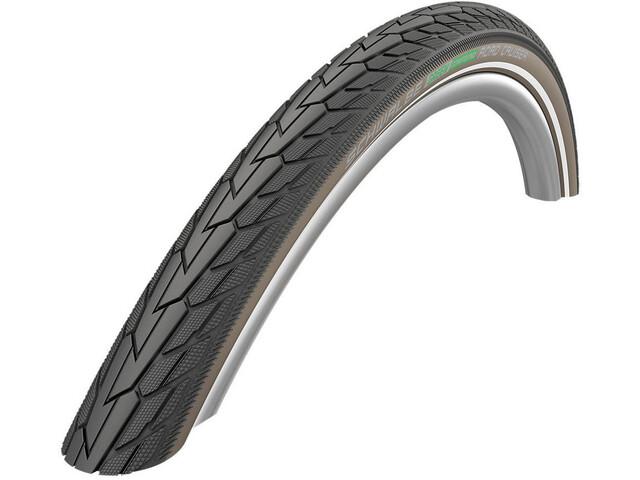 "SCHWALBE Road Cruiser Clincher Tyre 28"" K-Guard Active Reflex, black/coffee"